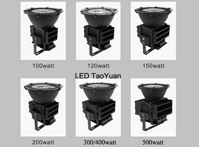 Industrial Lighting 100W to 500W Light LED High Bay