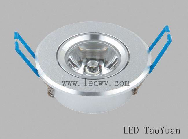 LED Ceiling light 1×3W