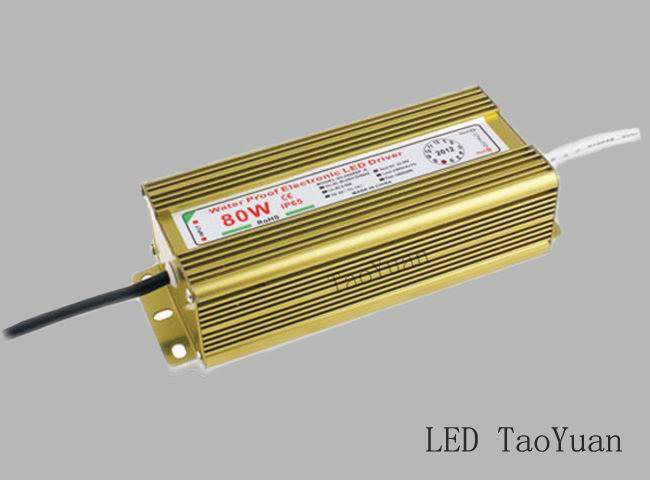 LED Driver 80W (Waterproof)