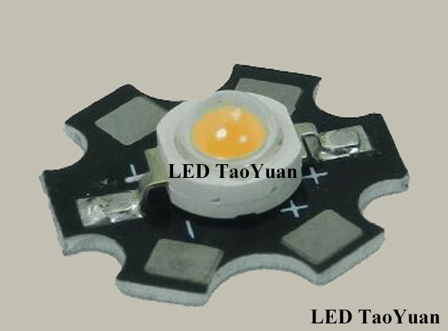 LED Grow Light Chip 380-840nm 3W