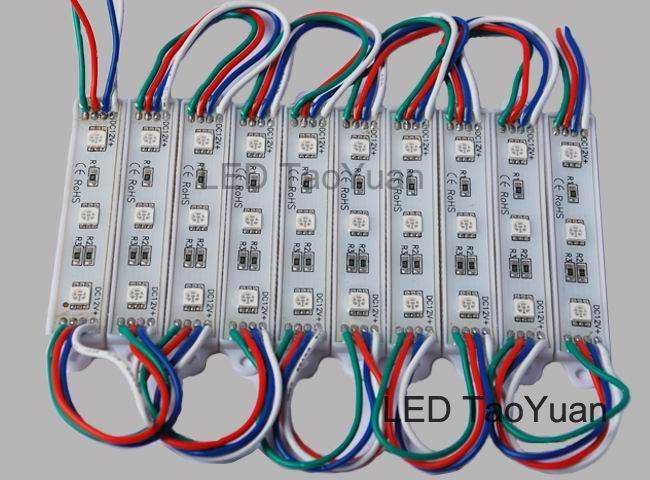 LED luminous characters module 5050 RGB