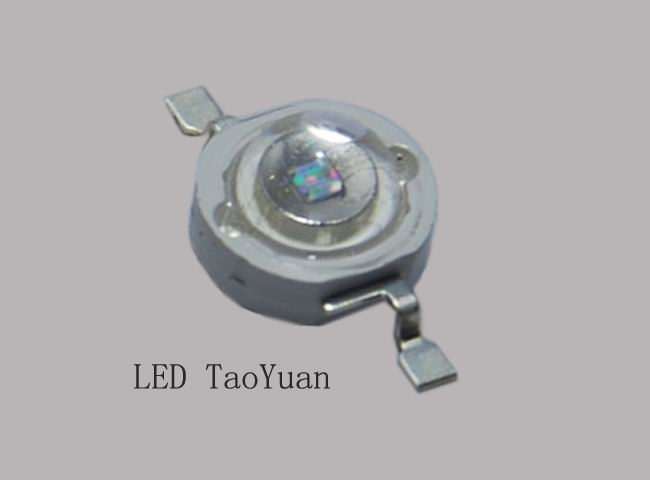 LED UV 365nm 3W 1Chip