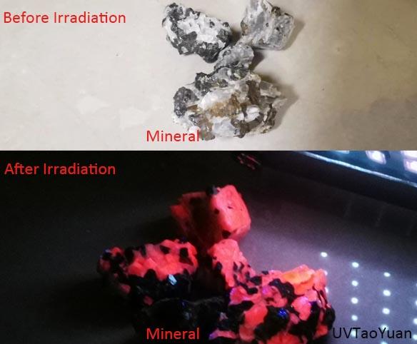 深紫外LED矿石检测 - 点击图像关闭