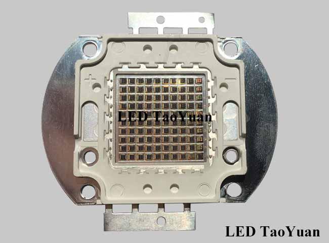 LED红外集成 100W 850/940nm 100芯片 - 点击图像关闭