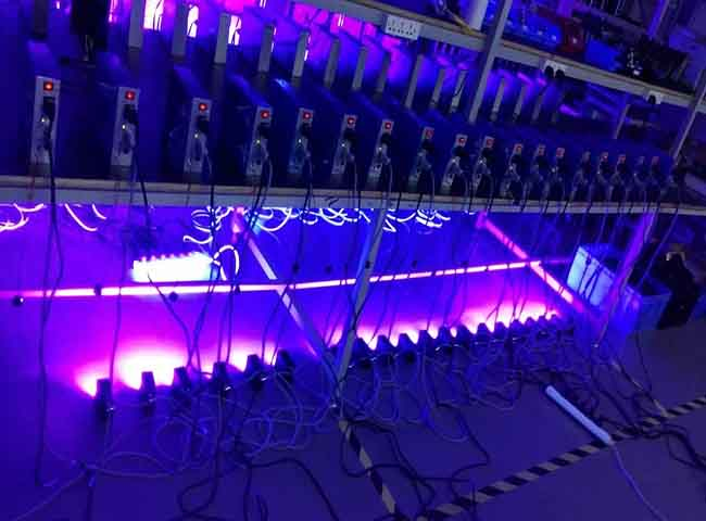 UV固化光头395nm 100W - 点击图像关闭
