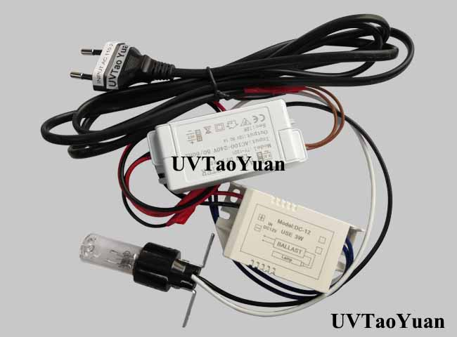 254nm UVC Lamp 3W - Click Image to Close
