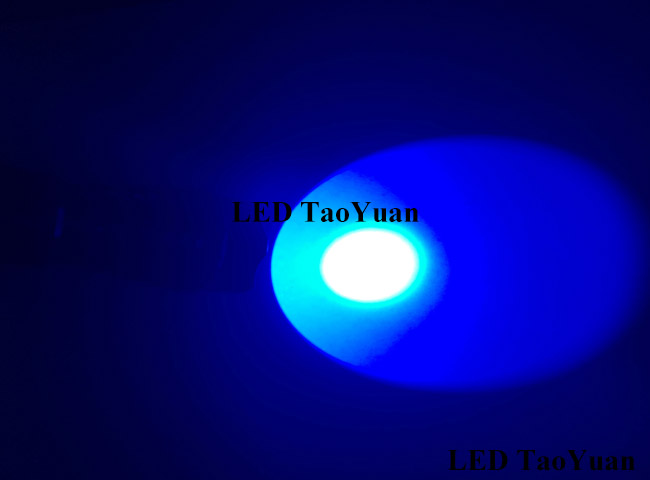 LED Blue Flashlight 3W - Click Image to Close