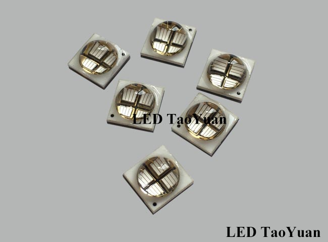 LED UV 365-370nm 10W 4Chip - Click Image to Close