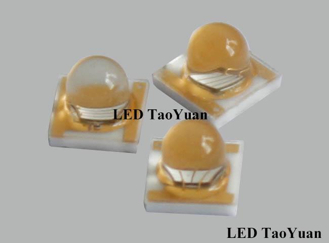 UV High Power LED 365-385nm 3W - Click Image to Close