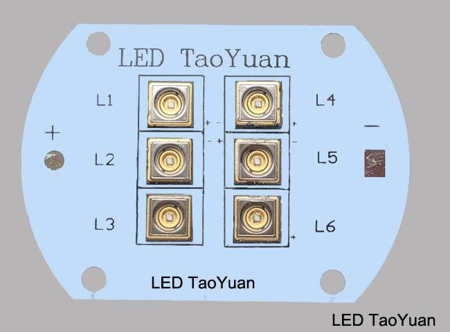 UV LED 365nm 20W NEW - Click Image to Close