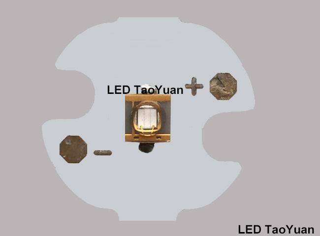 UV LED 365nm 3W (Φ16mm) - Click Image to Close