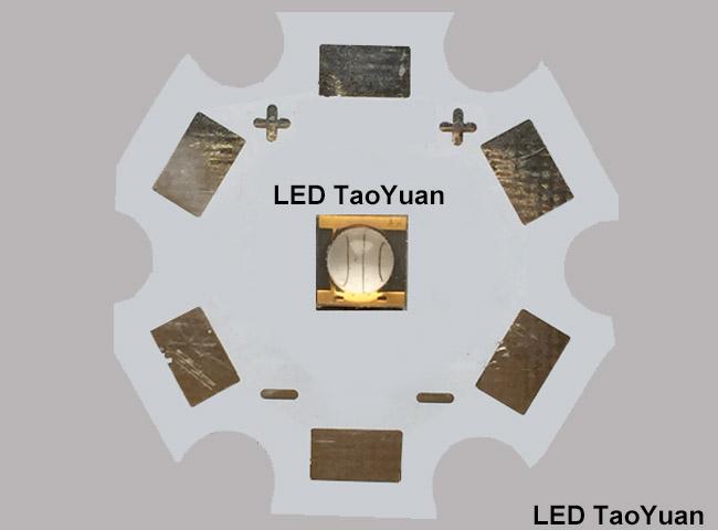 UV LED 365nm 3W (Φ20mm) - Click Image to Close