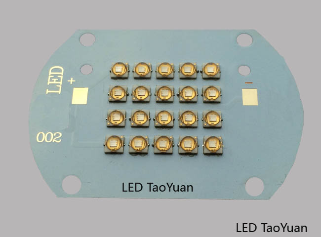 UV LED 395nm 50W NEW - Click Image to Close