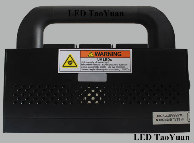 UV LED 395nm Portable Curing Lamp 300W - Click Image to Close