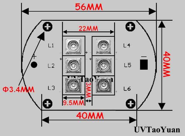 UV LED Light Source 365nm 20W - Click Image to Close