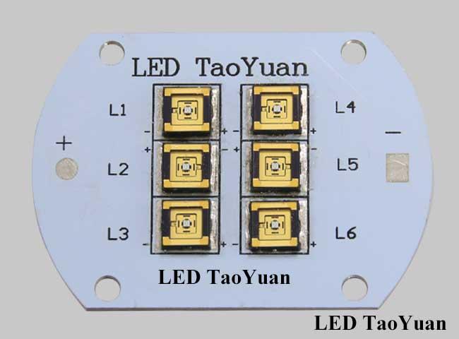UV LED Light Source 365nm NCSU033C 20W - Click Image to Close