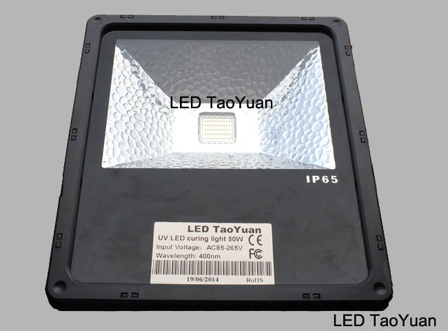 UV curing lamp 400nm 50W NEW - Click Image to Close