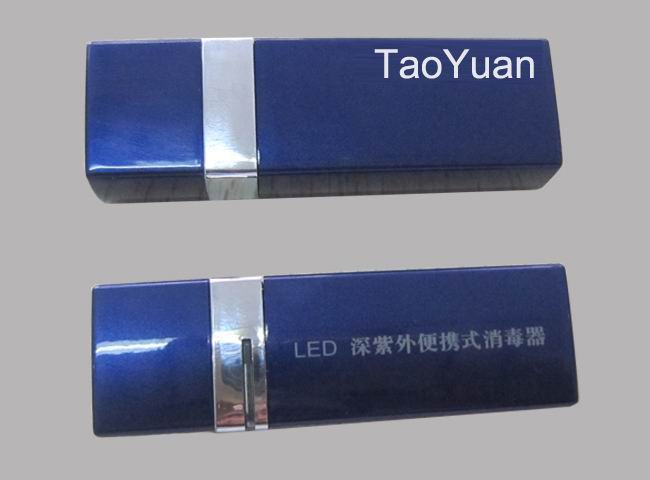 Deep ultraviolet portable LED sterilizer