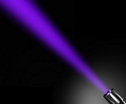365nm UV flashlight 5W -UV LED T aoYuan